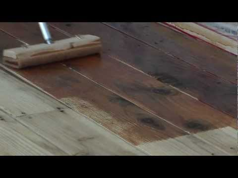 Staining a Wood Deck with Messmer's UV Plus