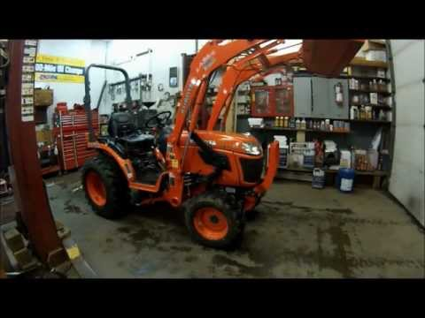 How to change the oil, oil filter and replace your air filter on your Kubota 2920 tractor (Part 1)