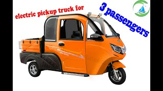 YUD005 NEW ELECTRIC PICKUP TRUCK