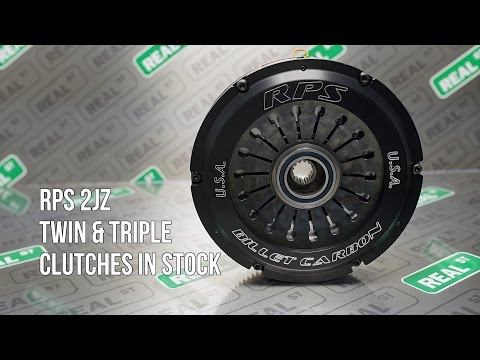 RPS 2JZ Twin and Triple Clutch - RPS-BC2-22170-ST RPS-BC2-22170-AL RPS-BC3-22170-PULL