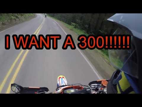 STREET LEGAL KTM 300 2-STROKE SUPERMOTO?!?!