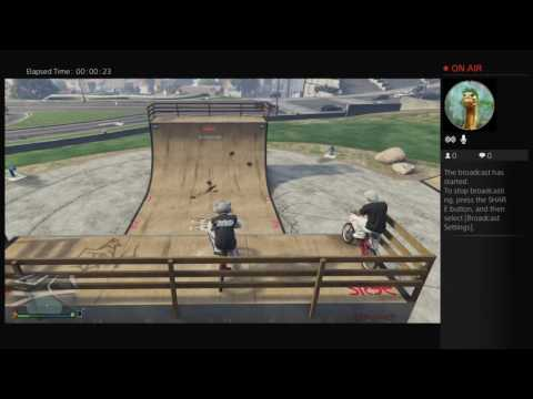 Bmx tricks Gta 5 online