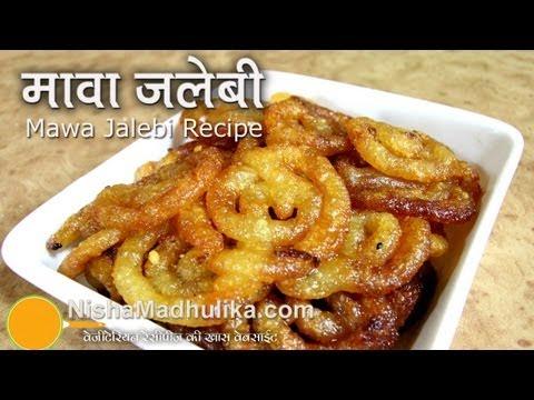 Mawa Jalebi Receipe recipe | Khoya Jalebi Recipe