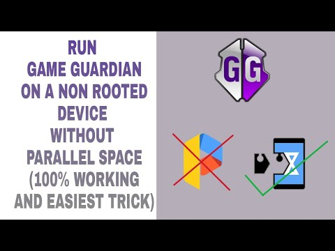 How to use game guardian in a non rooted device