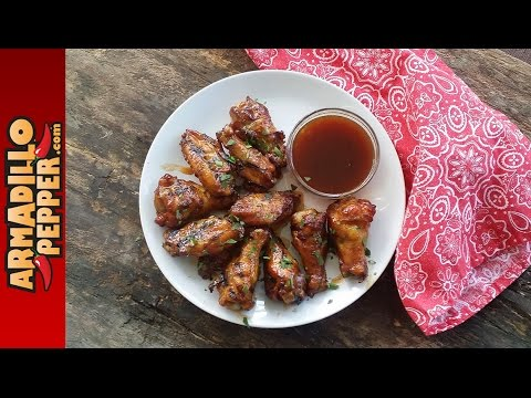 Easy Sweet & Spicy Chicken Wings in the Masterbuilt Electric Smoker