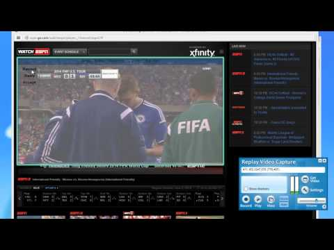 Record Live 2014 World Cup Streams with Replay Video Capture in HD