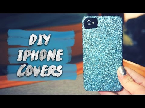 DIY 5 Easy Phone Projects. DIY Phone Case   Sjlovesjewelry