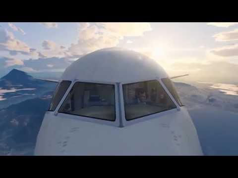 GTA 5 - Fly Emirates planes mod | Quick Landing