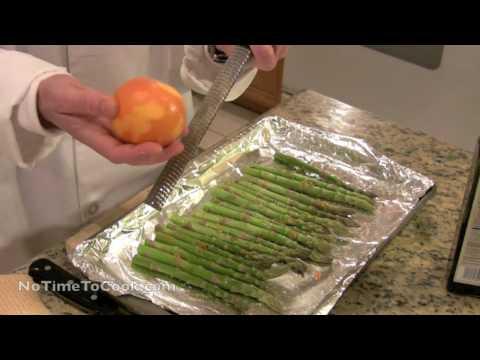 Oven Roasted Asparagus Recipe - NoTimeToCook.com