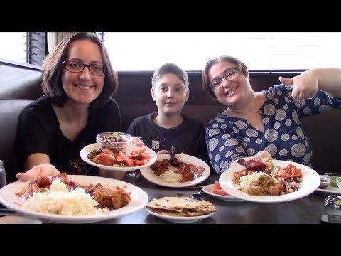 10/99$ CAD Indian Buffet | Gay Family Mukbang (먹방) - Eating Show
