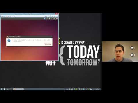 Install Ubuntu 14.04 TLS in Windows 8.1 Using VMware Player