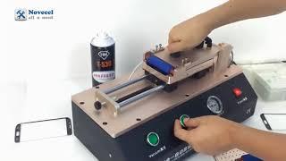 4 In 1 Curve Screens Oca Laminating Machine