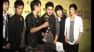 081116CCTV MTV音乐盛å...¸ SJM庚海源旭贤后台采访æŸ'