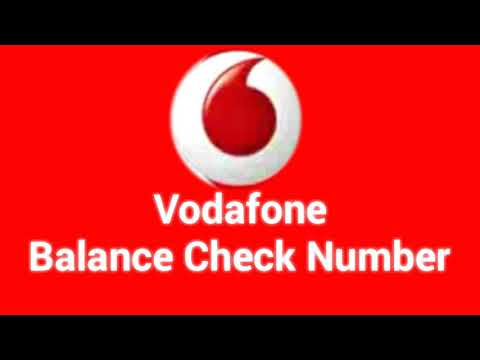 Vodafone balance check and best offer number