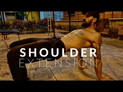 The BEST Shoulder Stretch you are not doing (Shoulder Extension)