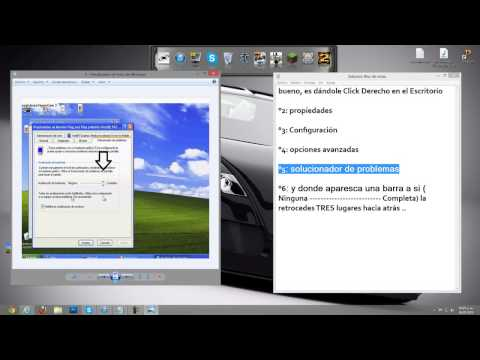 Solucion De Video Drivers Windows XP