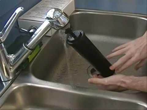 Black Berkey Water Filters - Priming and Cleaning Video