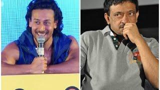 Tiger Shroff reacts to Ram Gopal Varma trolling him