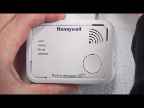 Koolmonoxidemelder XC70 demonteren | Honeywell Home