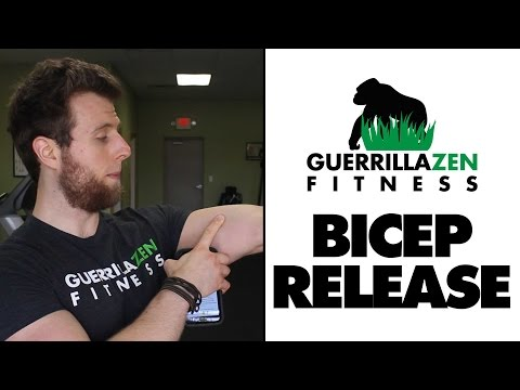Bicep Stretching and Release | Elbow Extension Fix