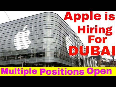 Apple is Hiring Multiple Positions Open || Jobs in Dubai