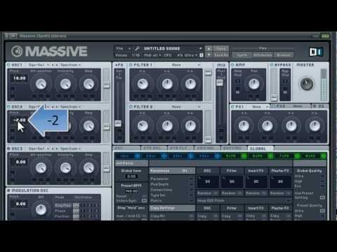 How to make a Skrillex-like Synth Lead (Massive Tutorial)
