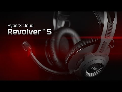 Gaming Headset with Dolby 7.1 Virtual Surround Sound - HyperX Cloud Revolver S