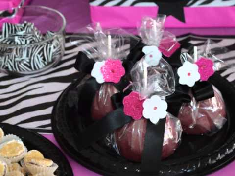 Pink Zebra Party Ideas
