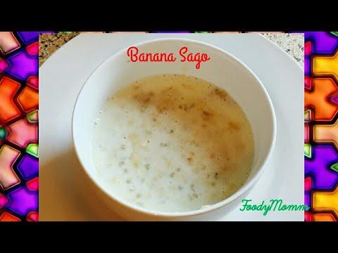 Banana Sago Kheer | Baby Food Recipe: Banana Sabutdana Kheer | For Babies 6 Months +| Sabakki Paysa