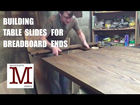 Building Table Slides for Breadboard Ends 014
