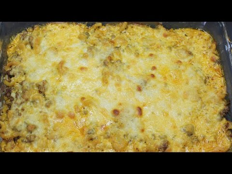 Macaroni and Beef Casserole with Michael's Home Cooking