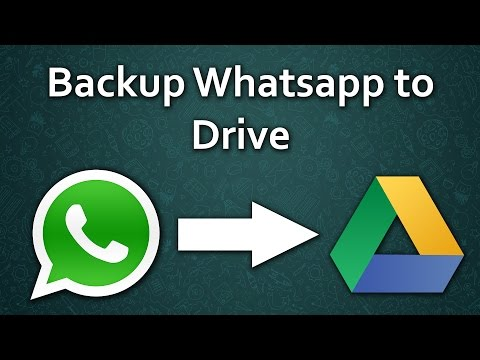 How to safely Backup all your Whatsapp Data!