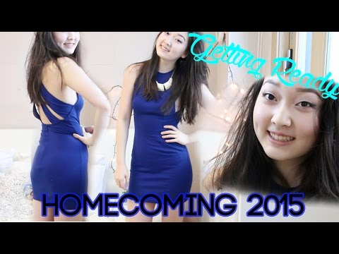 Getting Ready: Homecoming 2015!