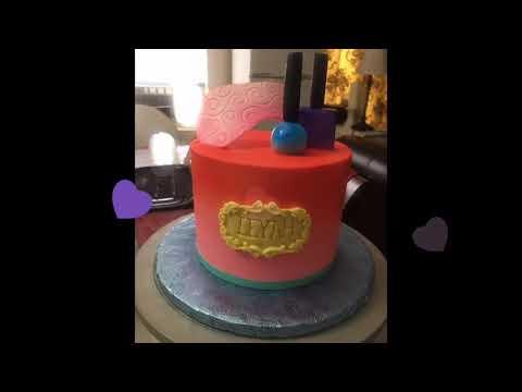 Spa make up cake  - July 16, 2017