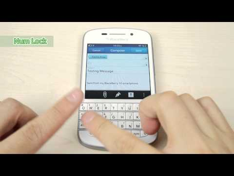 Special feature of Blackberry Q10: Keyboard