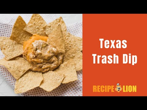 Layered Texas Trash Dip