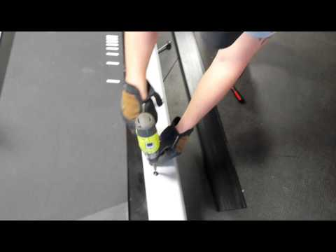 Star Trac Pro 7600 Treadmill Belt Replacement (Part 2)
