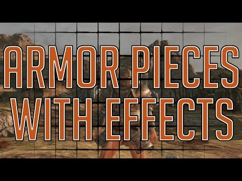 Dark Souls 2 - All Armor Pieces with Effects