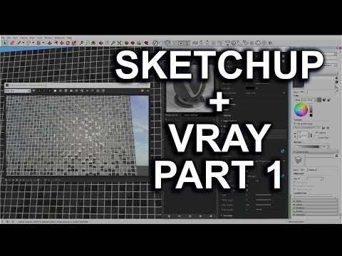 Using Poliigon textures in Sketchup and Vray - Part 1 (Material Basics)