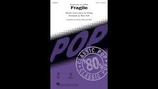 Fragile Satb  Arranged By Mac Huff