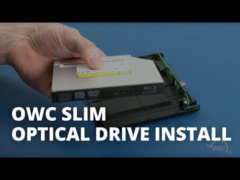 How to install an Optical Drive in an OWC Slim