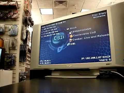 Original Xbox, Softmod Features, Retro Games, Emulators, Roms, XBMC