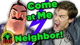 Overcoming my RAGE in this Neighbor NIGHTMARE! | Hello Neighbor (Official Release - Part 4)