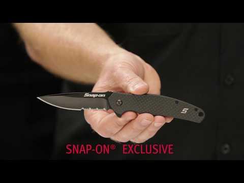Snap-on Exclusive Carbon Fiber Ripple Knife (SEKC79FCKK & SEKC79FCSK)