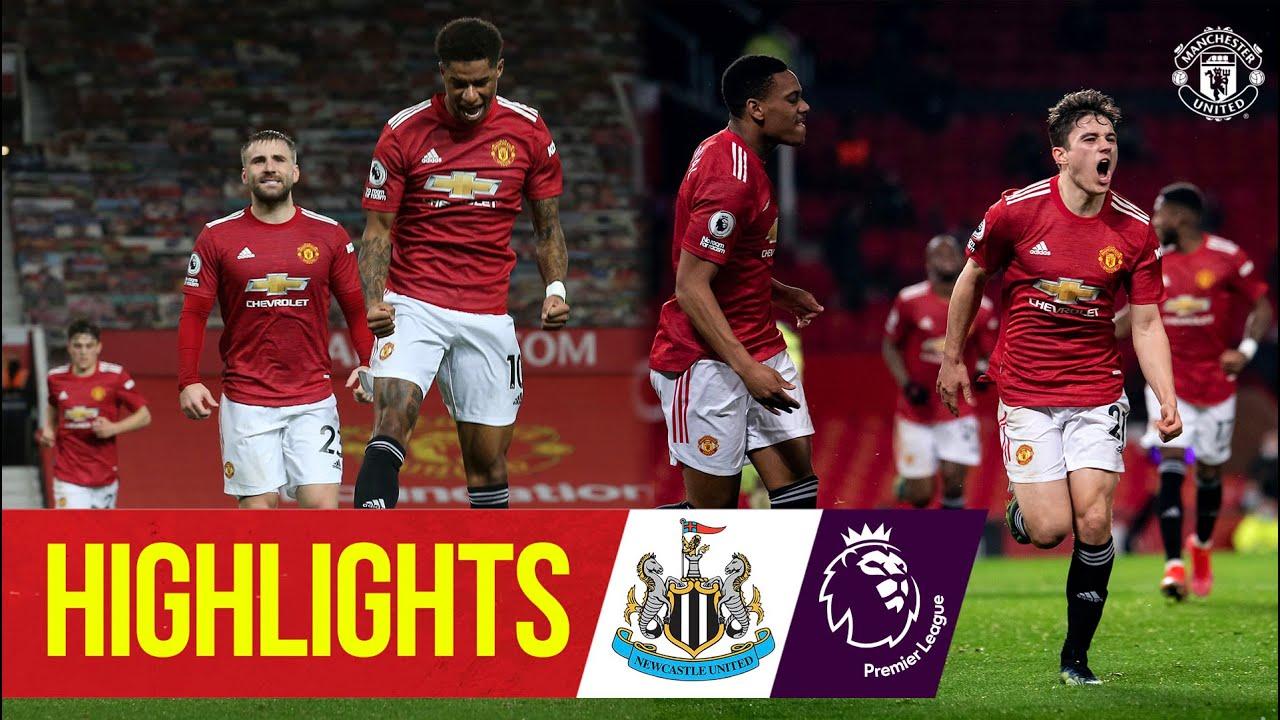 Rashford, James & Fernandes score in Toon win | Manchester United 3-1 Newcastle | Premier League