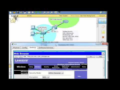 Linksys Wireless Router in Packet Tracer - Part 3