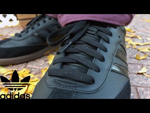 HOW TO: Adidas Samba | BLACK OUT PATENT LEATHER CUSTOM
