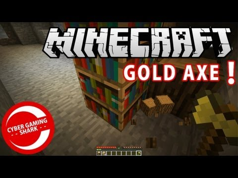 HOW TO MAKE A GOLD AXE MINECRAFT