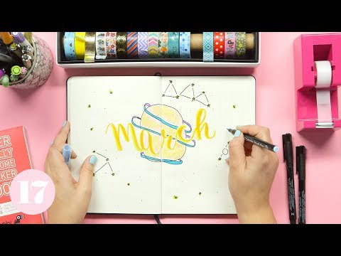 March 2018 Bullet Journal Setup | Plan With Me