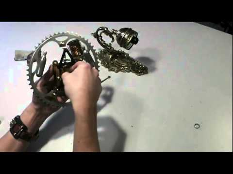 Steampunk Uhr, Kaminuhr - making of - tutorial - how to - desk clock